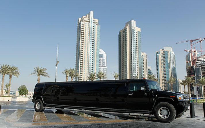 Hummer-H2-VIP-Black-full-side-view-and-front