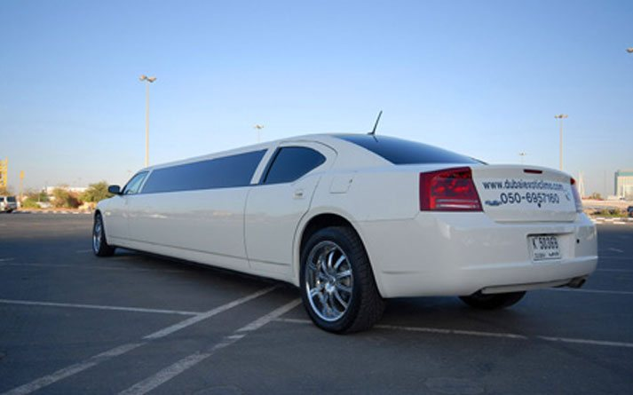 dodge-charger-vip-white-back-view